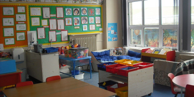 P1-3 classroom