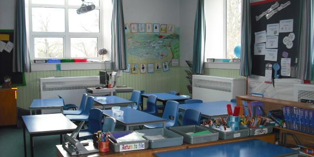 P4-7 classroom
